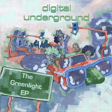 DIGITAL UNDERGROUND - The Greenlight EP - Zortam Music