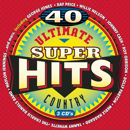 Various Artists - 40 Ultimate Country Super Hits [disc 1] - Zortam Music