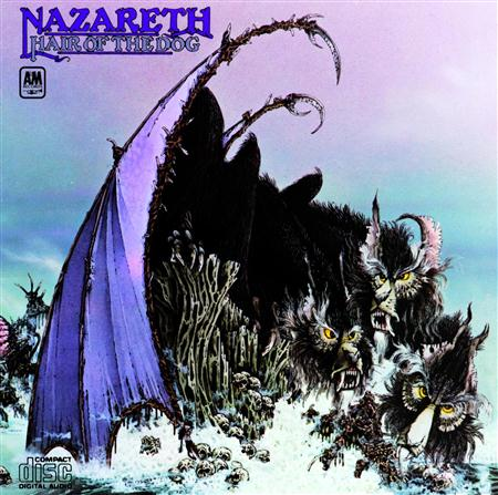 Nazareth - Hair Of The Dog [1st UK MoonCrest 27 A2-B1] - Zortam Music