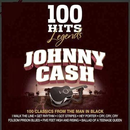 Johnny Cash - 100 Hits Legends - Jonny Cash - Zortam Music