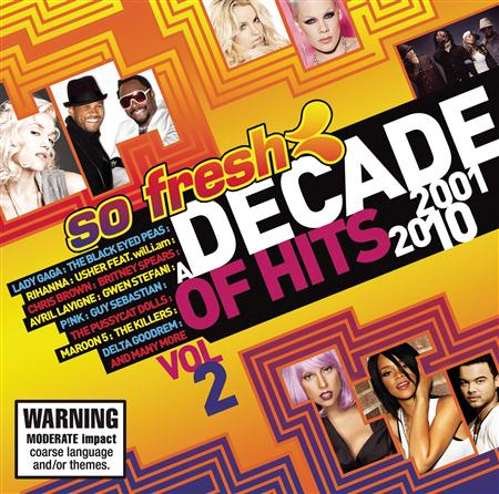 The Killers - So Fresh A Decade Of Hits 2001-2010 Vol. 2 - Zortam Music