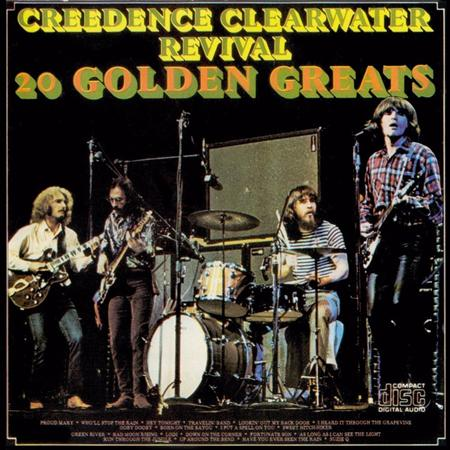 Creedence Clearwater Revival - 20 Golden Greats - Zortam Music