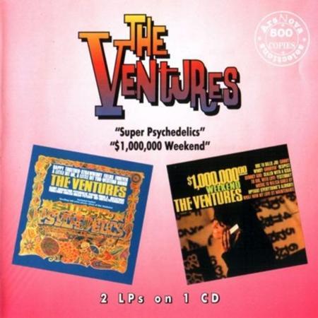The Ventures - Super Psychedelics / $1,000,000 Weekend - Zortam Music