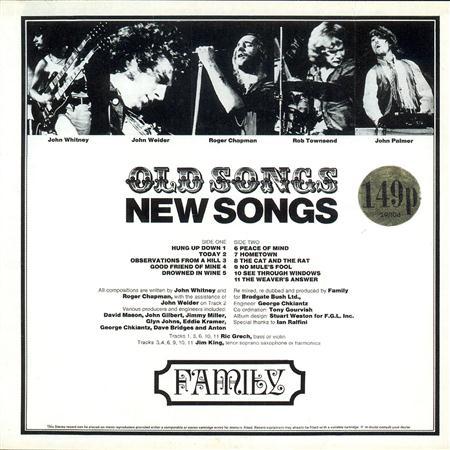 Family - Old Songs, New Songs - Zortam Music