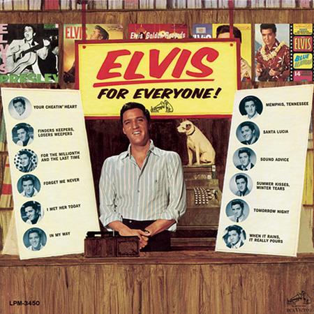 Elvis Presley - Elvis Presley The Album Collection [disc 23] Elvis For Everyone - Zortam Music
