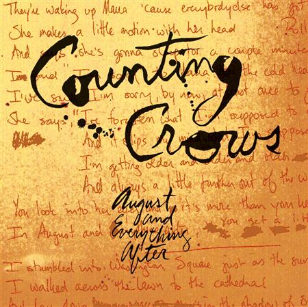 Counting Crows - August and Everything After (1993) - Zortam Music