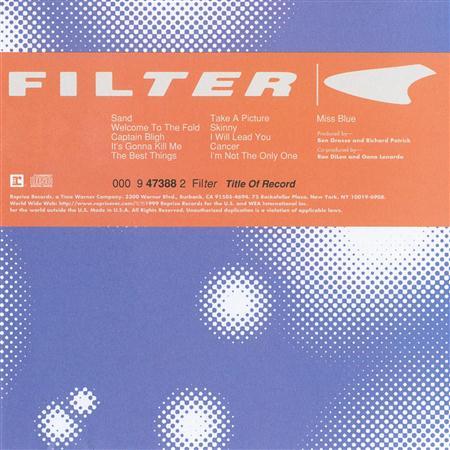 Filter - 18 Singles - Zortam Music