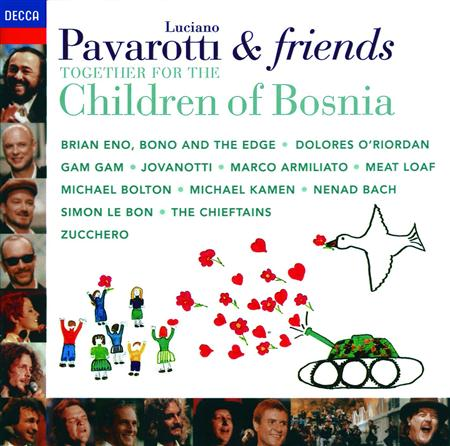 Brian Eno - Pavarotti & Friends Together For The Children Of Bosnia - Zortam Music