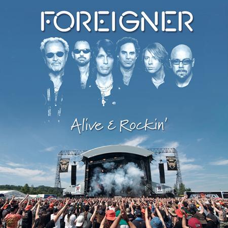 Foreigner - Alive & Rockin
