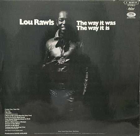 Lou Rawls - The Way It Was: The Way It Is - Zortam Music