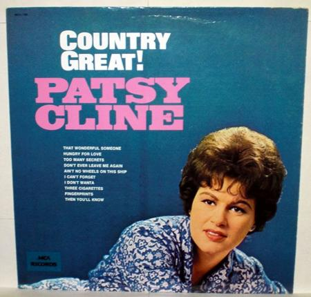 Patsy Cline - Country Great - Zortam Music