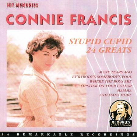 Connie Francis - Conny Francis - 24 Greatest Hits - Lyrics2You