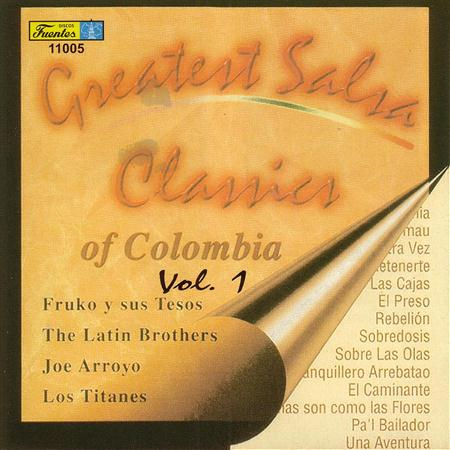 Various Artists - Greatest Salsa Classics Of Colombia vol.1 - Zortam Music