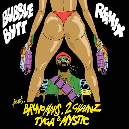 Major Lazer - Bubble Butt (feat. Bruno Mars, 2 Chainz, Tyga & Mystic) [Remix] - Single - Lyrics2You