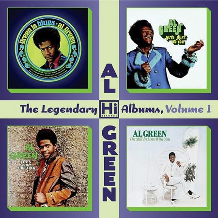 Al Green - The Legendary Hi Records Albums, Volume 1 Green Is Blues + Gets Next To You + Let