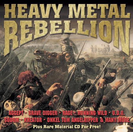 Grave Digger - Heavy Metal Rebellion - Zortam Music