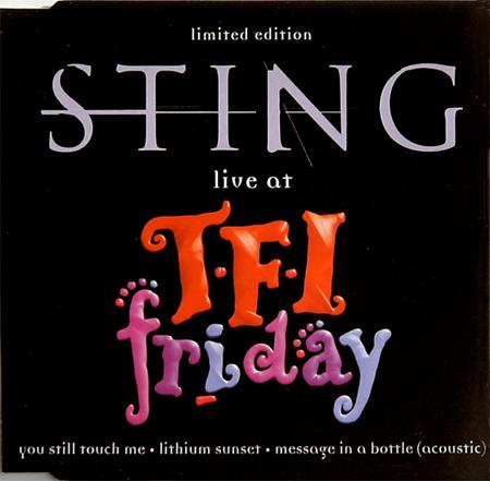 Sting - Live At Tfi Friday [ep] - Zortam Music