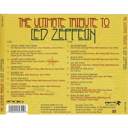 Led Zeppelin - The Ultimate Tribute To Led Zeppelin [disc 2] - Zortam Music