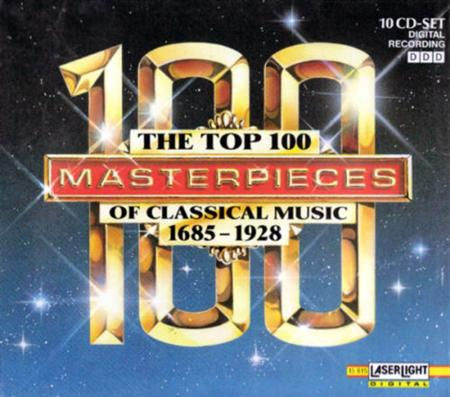 - - The Top 100 Masterpieces Of Classical Music 1685-1730 [disc 1] - Zortam Music