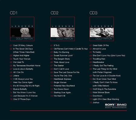 DOLLY PARTON - Legendary Dolly Parton [disc 2] - Zortam Music
