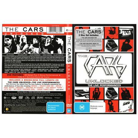 The Cars - Unlocked  The Live Performances - Zortam Music