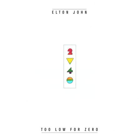 Elton John - Too Low For Zero [UK version]/UK version - Zortam Music