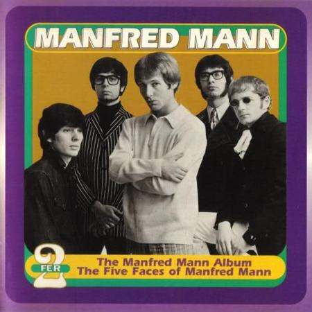 MANFRED MANN - The Manfred Mann Album/the Five Faces Of Manfred Mann - Zortam Music
