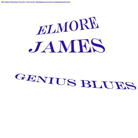 Elmore James - Genius Blues - Zortam Music