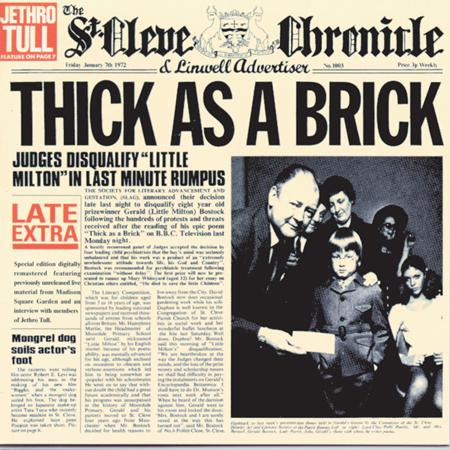 Jethro Tull - Thick As A Brick (Remastered 1998) - Zortam Music