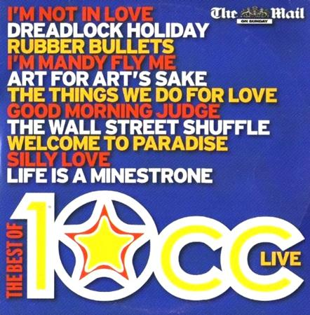 10cc - THE BEST OF 10CC LIVE(MAIL ON SUNDAY) - Zortam Music