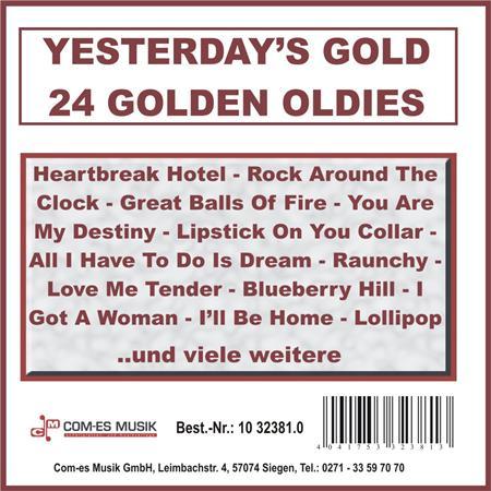 Fats Domino - Yesterdays Gold Vol 10 - 24 Golden Oldies - Zortam Music