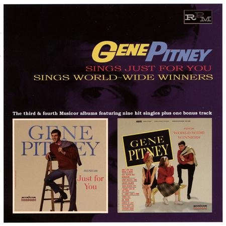Gene Pitney - Gene Pitney Sings Just For You - Zortam Music